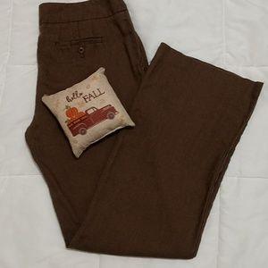 Eddie Bauer linen pants. Size 6